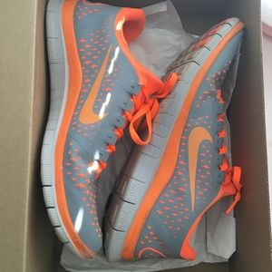 This is A women's size 8 Nike Free 3.0 Version 4